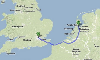 London to Amsterdam Removals